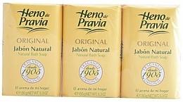 Fragrances, Perfumes, Cosmetics Heno de Pravia Original - Set (soap/3x150g)