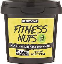 """Fragrances, Perfumes, Cosmetics Firming Body Scrub """"Fitness Nuts"""" - Beauty Jar Firming Body Scrub"""
