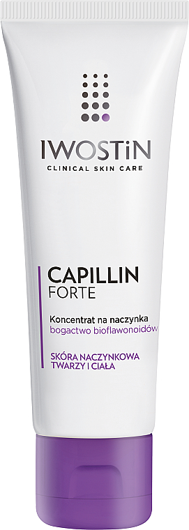 Concentrate from Couperose - Iwostin Capillin Forte Concentrate