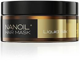 Fragrances, Perfumes, Cosmetics Silk Protein Hair Mask - Nanoil Liquid Silk Hair Mask