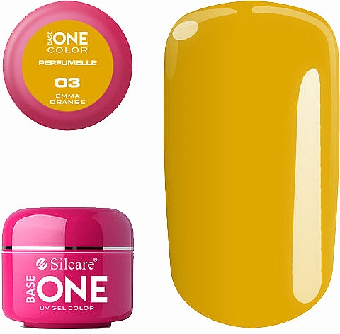 Scented Gel Polish - Silcare Base One Perfumelle UV Gel Color