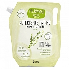 Fragrances, Perfumes, Cosmetics Antibacterial Soap for Intimate Hygiene with Organic Thyme Extract - Ekos Personal Care Thyme Intimate Cleanser (refill)