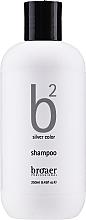 Fragrances, Perfumes, Cosmetics Blonde Hair Shampoo - Broaer B2 Silver Color Shampoo