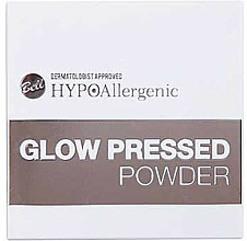 Fragrances, Perfumes, Cosmetics Face Compact Powder - Bell HypoAllergenic Glow Pressed Powder