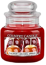 Fragrances, Perfumes, Cosmetics Scented Candle in Jar - Country Candle Salted Caramel Apples