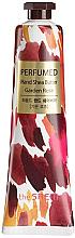 "Fragrances, Perfumes, Cosmetics Nourishing Hand Cream ""Rose"" - The Saem Perfumed Garden Rose Hand Shea Butter"