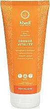 Fragrances, Perfumes, Cosmetics Orange Vitality Shampoo - Khadi Shampoo Orange Vitality