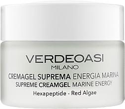 Fragrances, Perfumes, Cosmetics Premium Marine Energy Cream Gel - Verdeoasi Supreme Creamgel Marine Energy