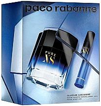 Fragrances, Perfumes, Cosmetics Paco Rabanne Pure XS - Set (edt/100ml + edt/mini/20ml)