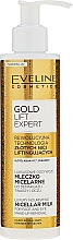 Fragrances, Perfumes, Cosmetics Luxurious Milk for Makeup Removal - Eveline Cosmetics Gold Lift Expert