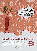 Fragrances, Perfumes, Cosmetics Red Ginseng Sheet Mask - Esfolio Pure Skin Red Ginseng Essence Mask Sheet