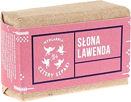 "Fragrances, Perfumes, Cosmetics Soap ""Lavender"" - Cztery Szpaki Soap"