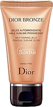 Fragrances, Perfumes, Cosmetics Facial Self Tanning - Dior Bronze Self-Tanning Jelly Face