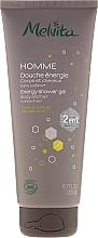 Fragrances, Perfumes, Cosmetics 2-in-1 Men Shower Gel-Shampoo - Melvita Homme Energy Shower Gel