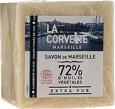 "Fragrances, Perfumes, Cosmetics Soap ""Pure"" - La Corvette Savon de Marseille Extra Pur"