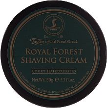 Fragrances, Perfumes, Cosmetics Shaving Cream - Taylor of Old Bond Street Royal Forest