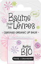 "Fragrances, Perfumes, Cosmetics Lip Balm ""Strawberry"" - Marilou Bio Certified Organic Lip Balm"