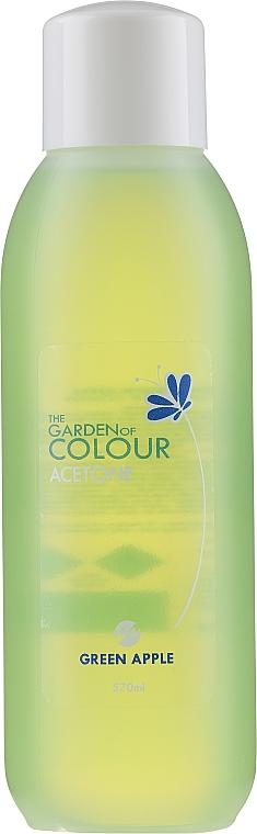 """Nail Polish Remover """"Green Apple"""" - Silcare The Garden Of Colour Aceton Green Apple"""
