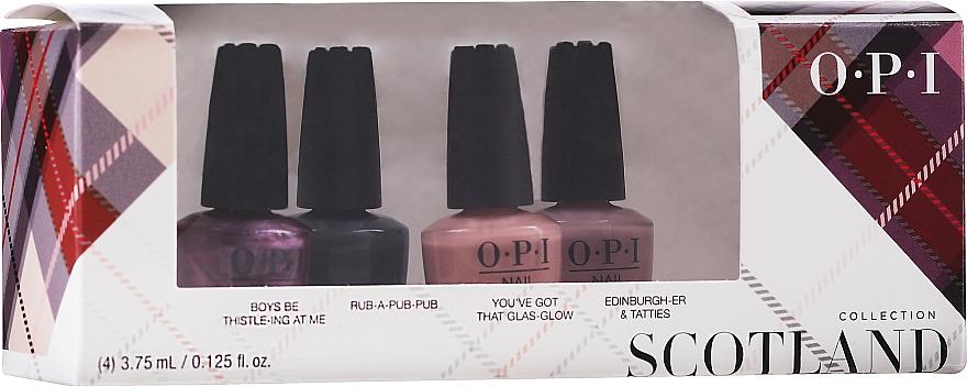 Set - OPI Scotland Nail Lacquer Set — photo N1