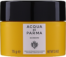Fragrances, Perfumes, Cosmetics Light Hold Hair Cream - Acqua Di Parma Barbiere Grooming Cream Light Hold