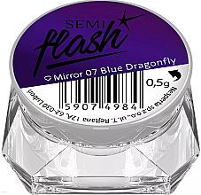 Fragrances, Perfumes, Cosmetics Nail Mirror Powder - Semilac SemiFlash Mirror