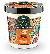 Fragrances, Perfumes, Cosmetics Anticellulite Body Souffle - Organic Shop Body Desserts Moroccan Orange Souffle