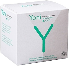 Fragrances, Perfumes, Cosmetics Daily Liners, 24 pcs - Yoni Organic Cotton Panty Liners
