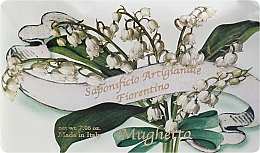 "Fragrances, Perfumes, Cosmetics Toilet Soap ""Lily of the Valley"" - Saponificio Artigianale Fiorentino Lily Of The Valley"