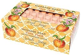 Fragrances, Perfumes, Cosmetics Peach Massage Scrub Soap - Gori 1919 Massage Scrub Soap Peach