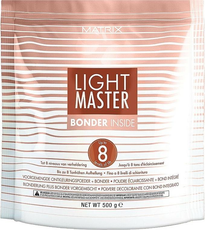 Lightening Powder with Protective Complex - Matrix Light Master 8 Bonder Inside
