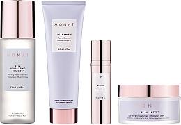 Fragrances, Perfumes, Cosmetics Set - Monat Be Balanced (cr/45ml + foam/120ml + ser/30ml + essence/120ml)