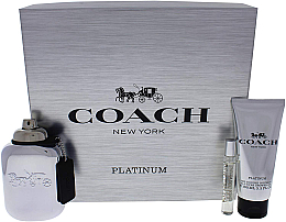 Fragrances, Perfumes, Cosmetics Coach Platinum - Set (edp/100ml + edp/7.5ml + s/g/100ml)
