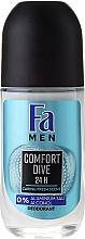 Fragrances, Perfumes, Cosmetics Roll-On Deodorant - Fa Men Comfort Dive Deodorant
