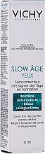 Fragrances, Perfumes, Cosmetics Eye Cream - Vichy Slow Age Eye Cream