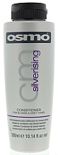 Fragrances, Perfumes, Cosmetics Yellow Neutralizing Conditioner - Osmo Silverising Conditioner for Blonde & Grey Tones