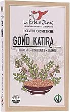 Fragrances, Perfumes, Cosmetics Tragacanth Herbal Powder - Le Erbe di Janas Gonda Katira (Tragacanth)