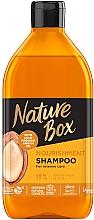 Fragrances, Perfumes, Cosmetics Nourishing & Intensive Hair Care Shampoo with Argan Oil - Nature Box Nourishment Vegan Shampoo With Cold Pressed Argan Oil