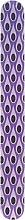 Fragrances, Perfumes, Cosmetics Nail File 2061, purple - Donegal