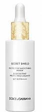 Fragrances, Perfumes, Cosmetics Protective Smoothing Primer - Dolce & Gabbana Secret Shield Protective Smoothing Primer SPF50 PA++++