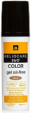 Fragrances, Perfumes, Cosmetics Sun Protection Water-Based Tinted Gel - Cantabria Labs Heliocare 360 Gel Oil Free Color