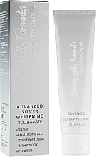Fragrances, Perfumes, Cosmetics Toothpaste - Beverly Hills Formula Professional White Advanced Silver Whitening