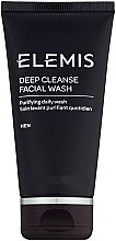 "Fragrances, Perfumes, Cosmetics Men Cleansing Gel ""Deep Cleansing"" - Elemis Men Deep Cleanse Facial Wash"