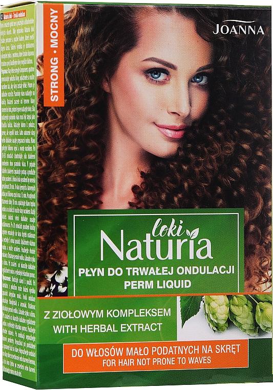 "Permanent Hair Curling Liquid ""Strong"" - Joanna Naturia Loki Liquid"
