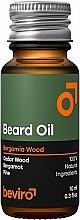Fragrances, Perfumes, Cosmetics Beard Oil - Beviro Beard Oil Bergamia Wood