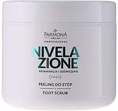 Fragrances, Perfumes, Cosmetics Foot Peeling - Farmona Professional Nivelazione