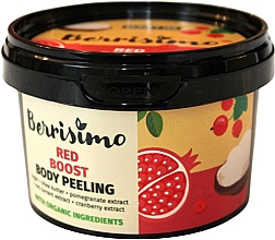 Fragrances, Perfumes, Cosmetics Body Peeling - Berrisimo Red Boost Body Peeling