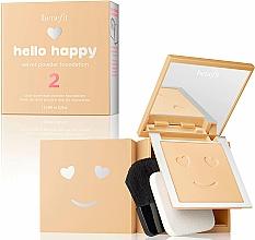 Fragrances, Perfumes, Cosmetics Powder Foundation - Benefit Hello Happy Velvet Powder Foundation