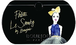 Fragrances, Perfumes, Cosmetics Eyeshadow Palette - Bourjois Eyeshadow Palette Les Smoky