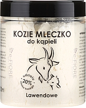 "Fragrances, Perfumes, Cosmetics Bath Goat Milk ""Lavender"" - E-Fiore Lavender Bath Milk"