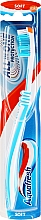 Fragrances, Perfumes, Cosmetics Soft Toothbrush, white & blue - Aquafresh All In One Protection